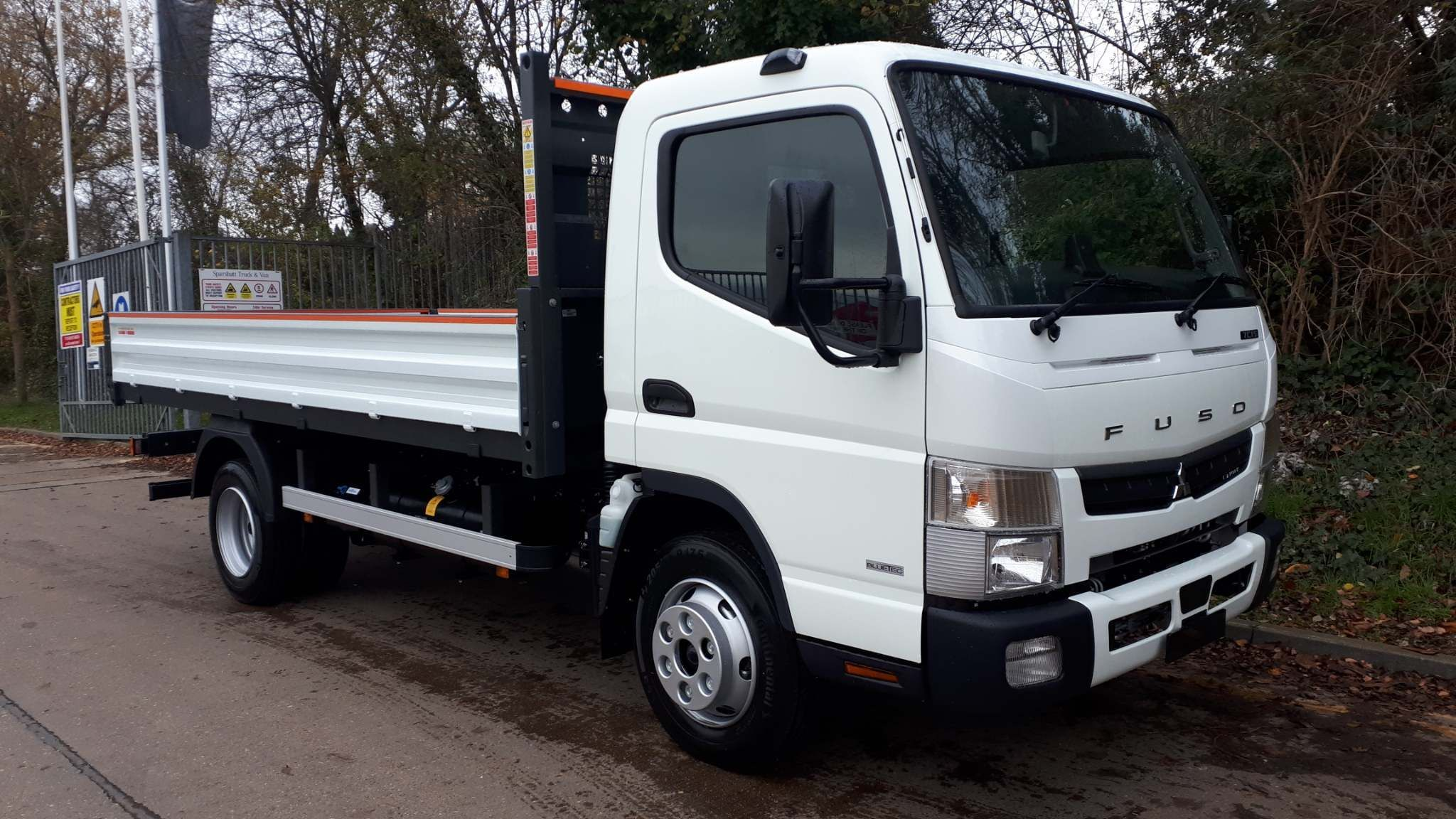 FUSO Canter 7C15 Steel Tipper AUTO