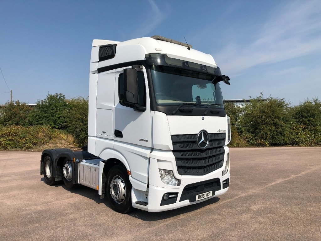 Mercedes-Benz Actros 2548LS Bigspace With tipping gear - image 1