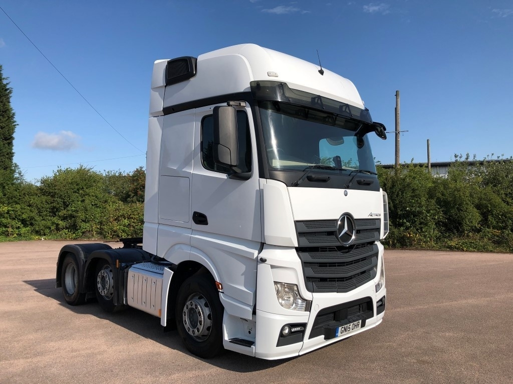 Mercedes-Benz Approved Used Commercial Trucks | Sparshatts