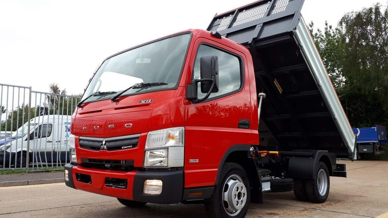 FUSO Canter 3C13 Red Edition Steel Tipper