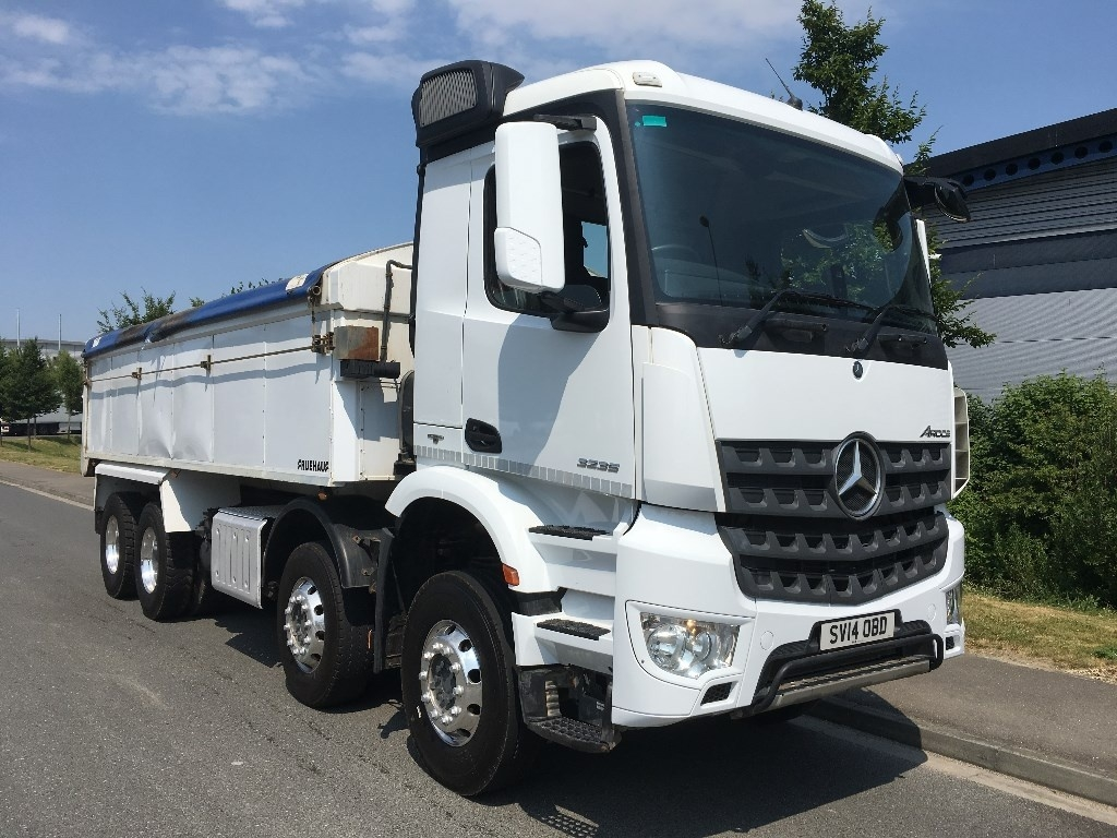 Mercedes-Benz Arocs Euro 6 Insulated tipper