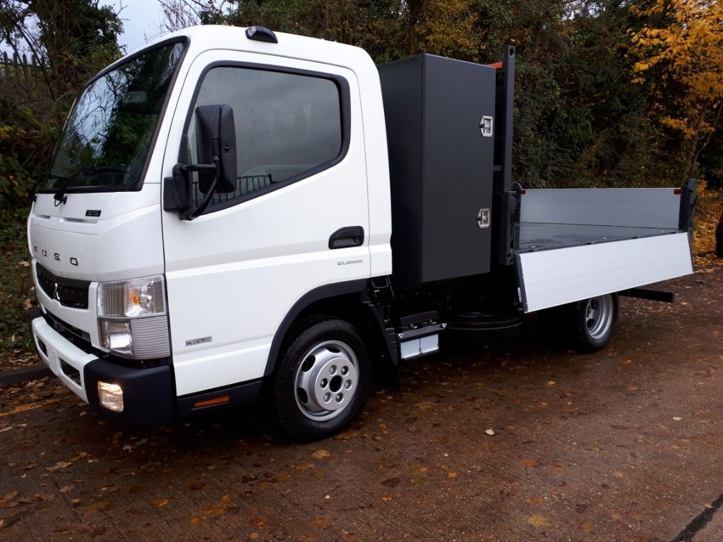 FUSO Canter AUTOMATIC Tipper+Toolpod - image 3