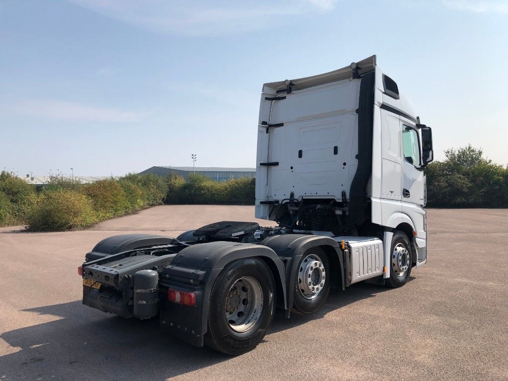 Mercedes-Benz Actros 2548LS Bigspace With tipping gear - image 4