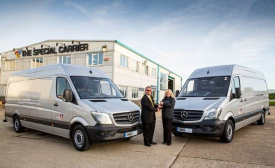Sparshatts cracks The Special Carrier case with first Mercedes-Benz van order