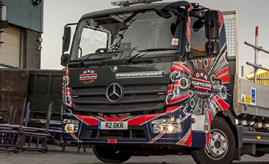 GKR aims high with low-emission Mercedes-Benz fleet