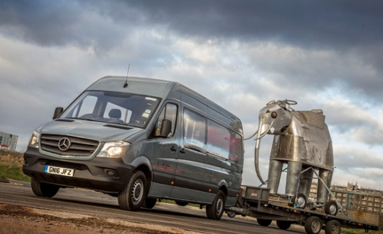 Mercedes-Benz Sprinters earn their artistic licences