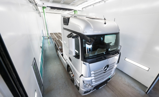 Sparshatt Truck & Van launches 'same-day' commercial vehicle paint service