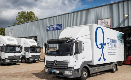 Thirty years later, bathroom distributor is still tapping into Mercedes-Benz Atego reliability
