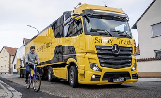 Vital safety features now in place on more than 8,000 lorries