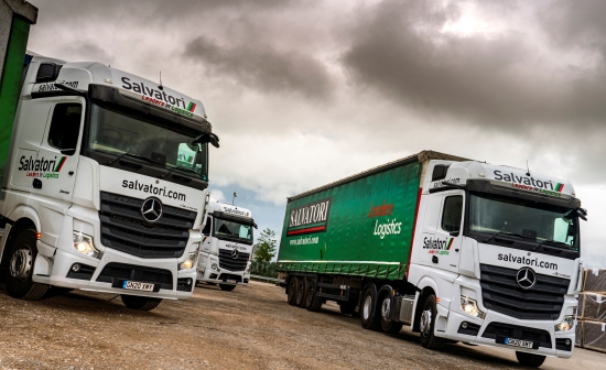 Salvatori enters a new era by welcoming its first eight Mercedes-Benz Actros from Sparshatt Truck & Van