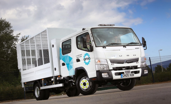 Payload and agility lead Optivo back to Sparshatt Truck & Van for new FUSO Canter crew cab
