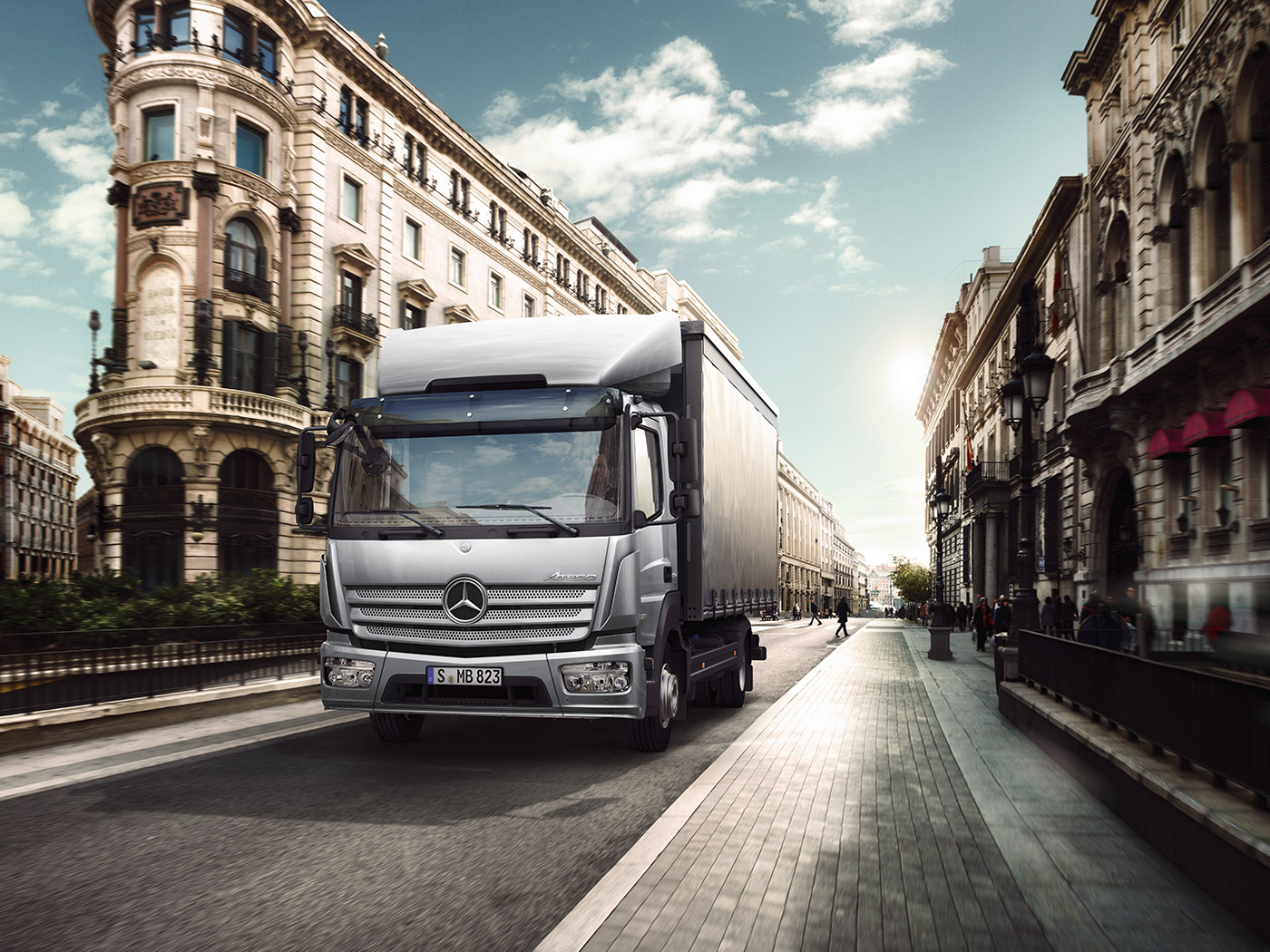 Atego | Mercedes-Benz | Sparshatts of Kent