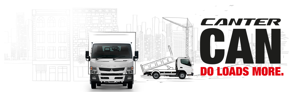 New Mitsubishi Fuso Canter Truck | Mercedes-Benz Sparshatt