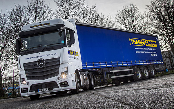 Thames Group goes with the Mercedes-Benz Actros flow